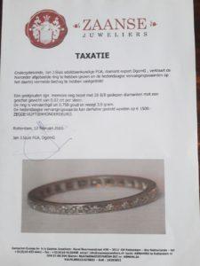 voorbeeld taxatierapport sieraad